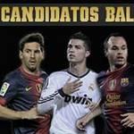 Bóng đá - QBV Fifa 2012: 3 ứng viên xứng đáng