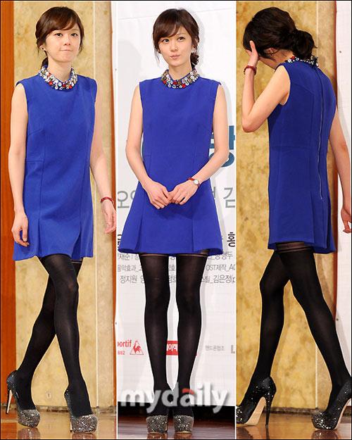 Krystal f(x) mặc áo lấp lửng khoe eo đẹp - 6