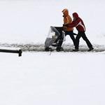 Thế giới - Chùm ảnh: Châu Âu chìm trong bão tuyết