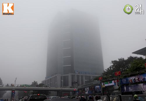 Hà Nội chìm trong sương mù - 3
