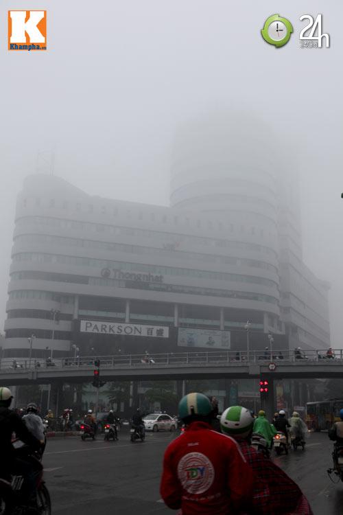 Hà Nội chìm trong sương mù - 2