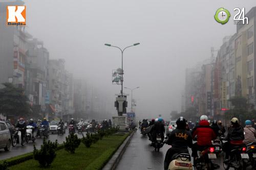 Hà Nội chìm trong sương mù - 6