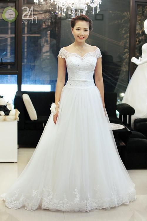 Váy cưới cho nàng dâu giản dị - 8