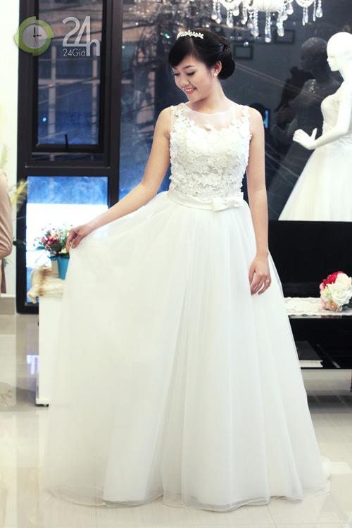Váy cưới cho nàng dâu giản dị - 1