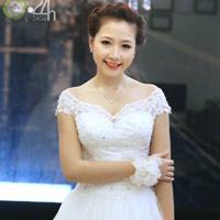 Váy cưới cho nàng dâu giản dị