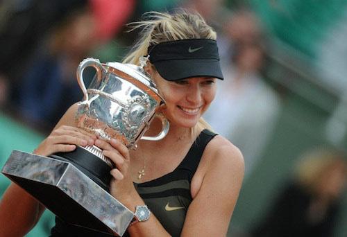 Sharapova khao khát lấy ngôi số 1 - 1
