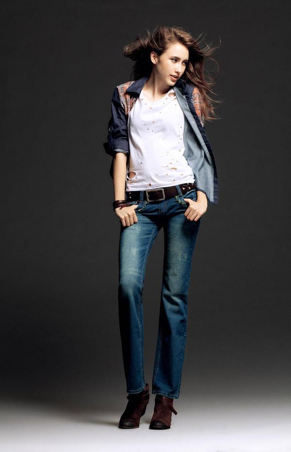 Mặc jeans sành điệu mùa đông - 9
