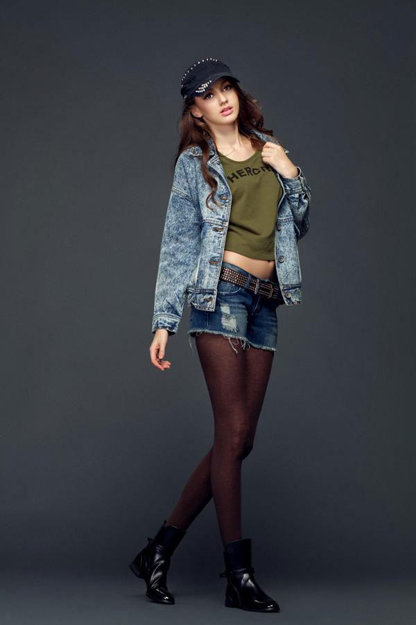 Mặc jeans sành điệu mùa đông - 4