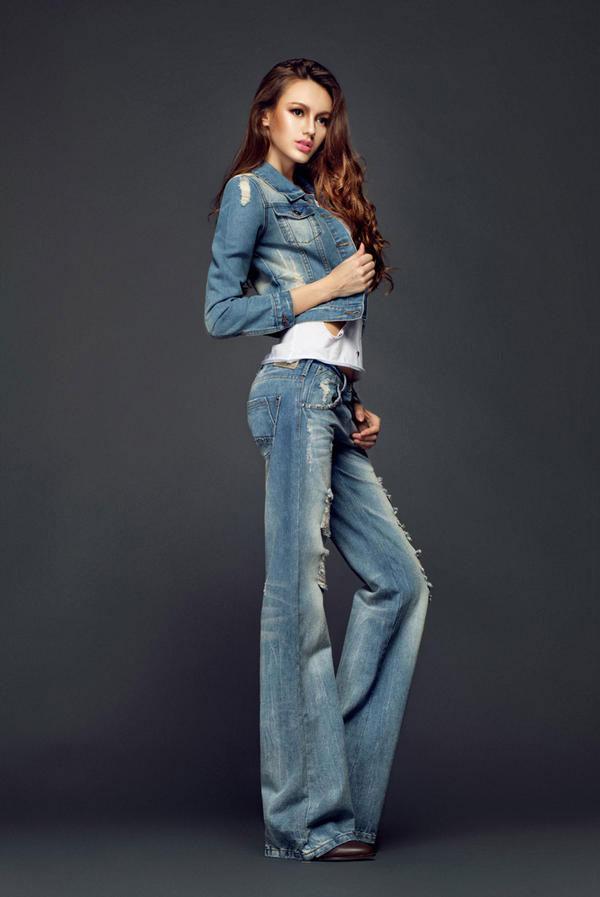 Mặc jeans sành điệu mùa đông - 6