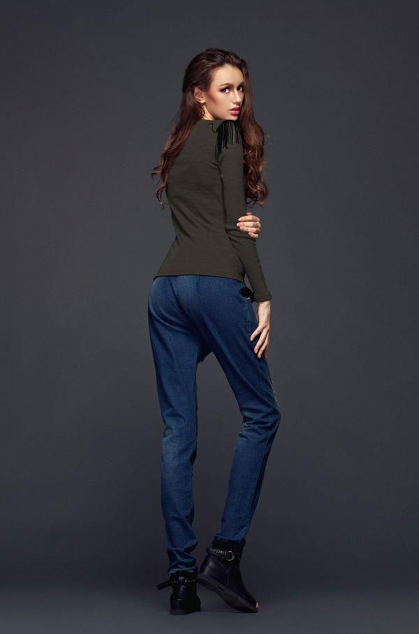 Mặc jeans sành điệu mùa đông - 12