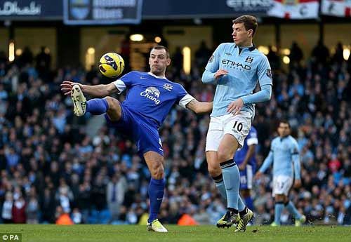 Man City-Everton: Nỗ lực bất thành - 1