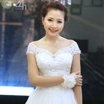 Thời trang - Váy cưới cho nàng dâu giản dị