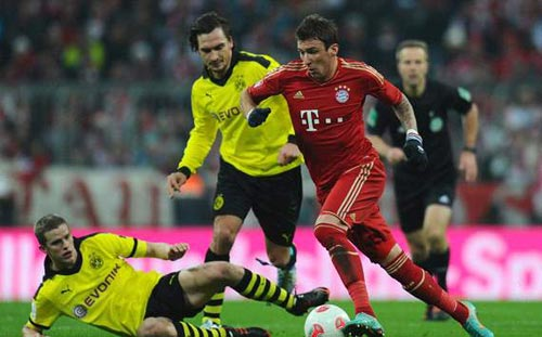 Bayern - Dortmund: Giữ nguyên cách biệt - 1
