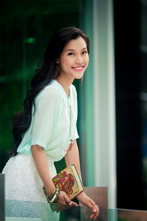 Hoa khôi hóa thôn nữ xinh đẹp - 2