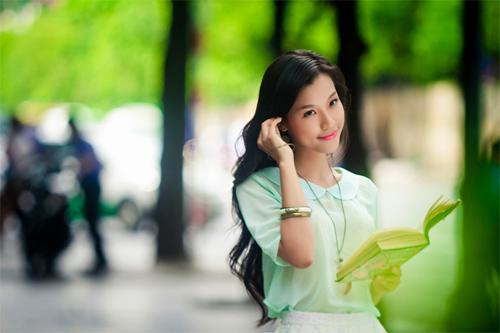 Hoa khôi hóa thôn nữ xinh đẹp - 3