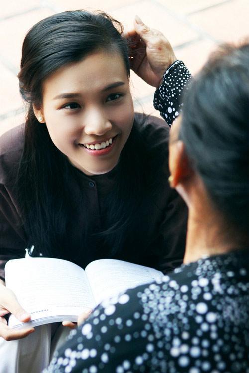 Hoa khôi hóa thôn nữ xinh đẹp - 7