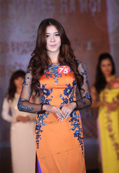 Nữ sinh Hà Nội khoe nét yêu kiều, duyên dáng - 8