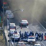Tin tức trong ngày - Sập đường hầm ở Nhật, nhiều xe bị chôn vùi