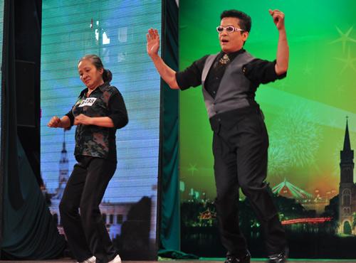 Got Talent: Cụ bà nhảy Gangnam Style - 3