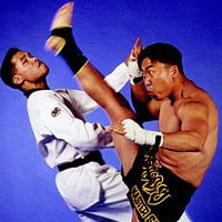 Video: Muay Thai đọ sức với Taekwondo