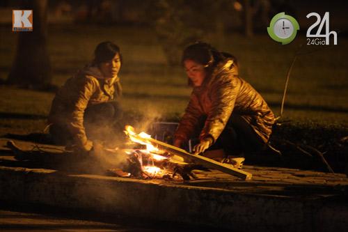 Người Hà Nội đốt lửa chống rét - 7