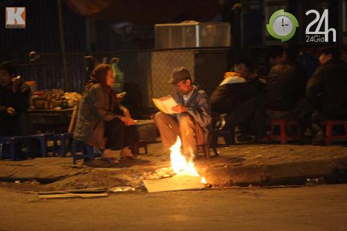 Người Hà Nội đốt lửa chống rét - 5