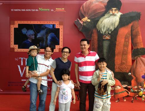 Thành Lộc, Hữu Châu khuấy động fan nhí - 4