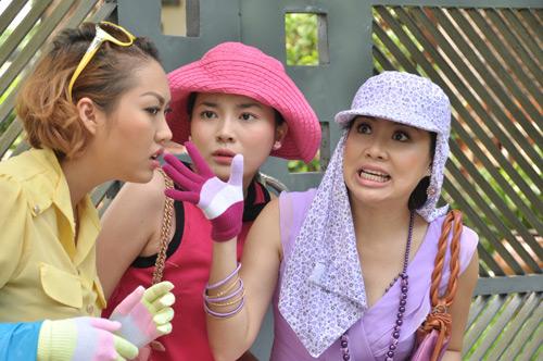 Phi Thanh Vân vào vai hám của - 5
