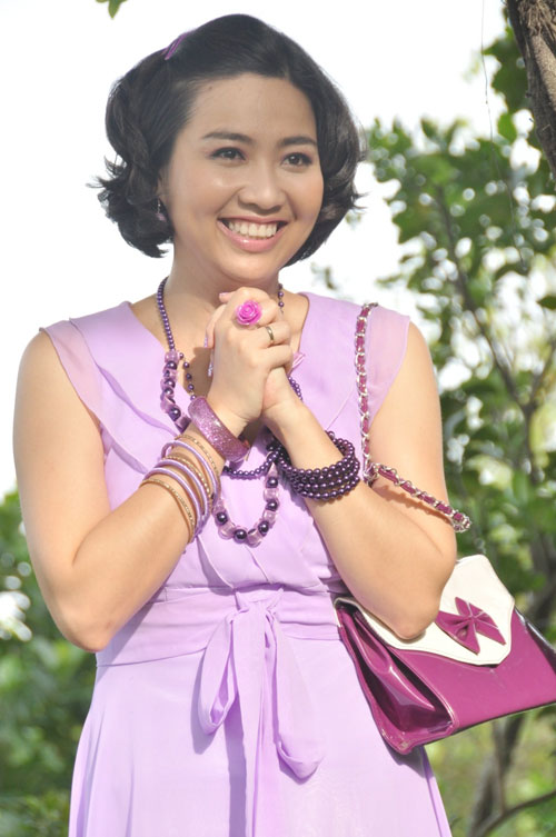 Phi Thanh Vân vào vai hám của - 3