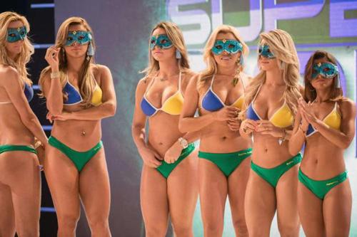 Đi xem cuộc thi Hoa hậu vòng 3 săn chắc - 4