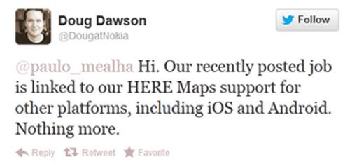 Nokia chạy Android chỉ là tin đồn - 2
