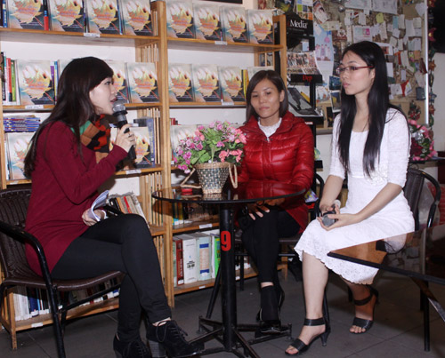 Lâm Phương Lam ra sách đầu tay - 2