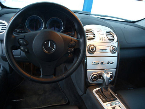 """Mercedes-Benz SLR McLaren màu """"rằn ri"""" - 2"""