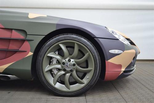 """Mercedes-Benz SLR McLaren màu """"rằn ri"""" - 11"""