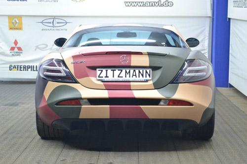 """Mercedes-Benz SLR McLaren màu """"rằn ri"""" - 6"""