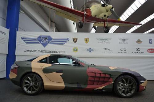 """Mercedes-Benz SLR McLaren màu """"rằn ri"""" - 7"""