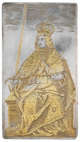 Bộ bài 400 tuổi bằng vàng - 1