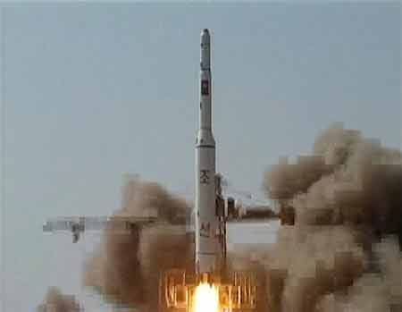Các nước quan ngại về tên lửa Triều Tiên - 1