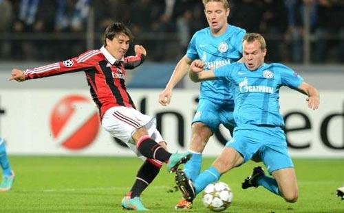 Milan – Zenit: Xoay tua nhân sự - 1