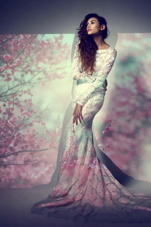 Hoàng Yến làm bà chúa hoa gợi cảm - 5