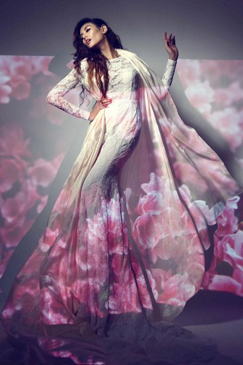 Hoàng Yến làm bà chúa hoa gợi cảm - 6
