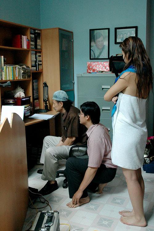 Tiết lộ cảnh Jennifer hôn Quang Dũng - 12