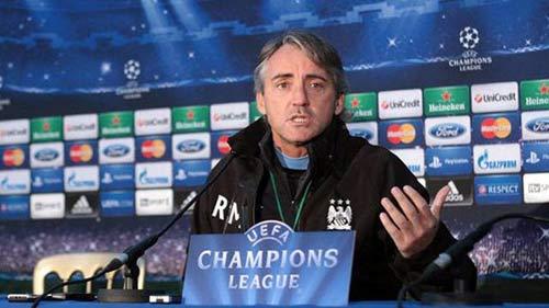 Mancini không quan tâm tới MU - 1