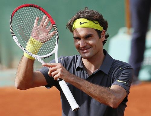 Federer vĩ đại là nhờ cây vợt - 1
