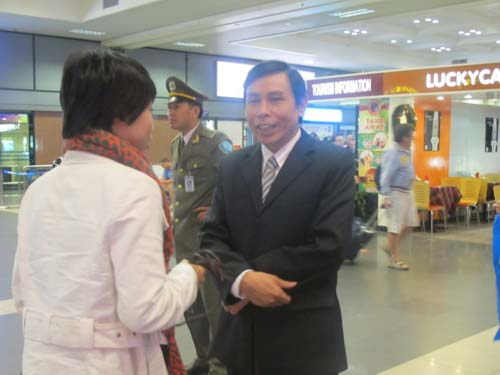 ĐT eSports VN được chào đón tại sân bay - 7