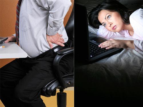6 lỗi sức khỏe dân công sở thường gặp - 1