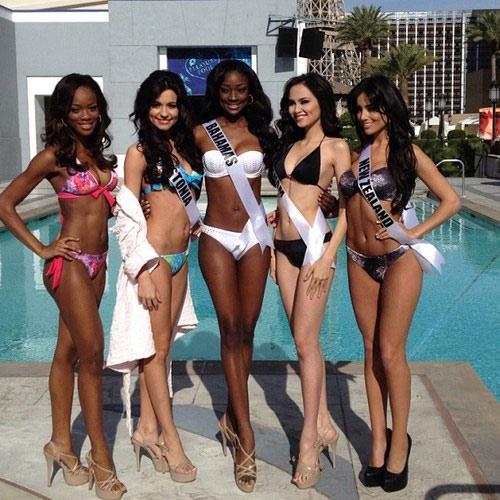 Diễm Hương xinh tươi tại Las Vegas - 15