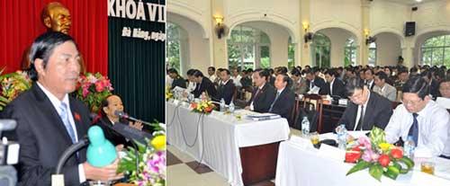 Khai mạc kỳ họp thứ 5 HĐND TP Đà Nẵng khóa VIII - 1