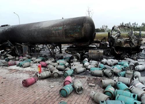 Nổ như bom trong khu công nghiệp ở Bắc Ninh - 5