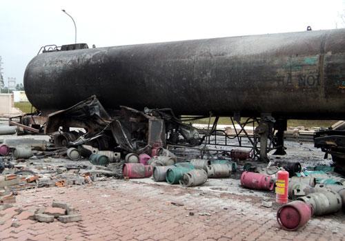 Nổ như bom trong khu công nghiệp ở Bắc Ninh - 1